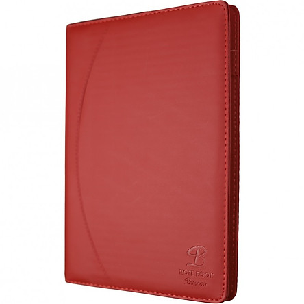 Sổ da 400 trang A4 Klong - TP657 màu đỏ
