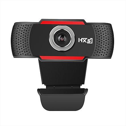 Webcam HXSJ S30 720P Tích Hợp Micro Thu Âm Hỗ Trợ Gọi Video Call Trên Máy Tính