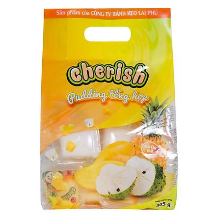 Thạch pudding Cherish vị Tổng Hợp 405g