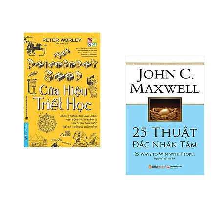 Combo 2 cuốn sách: Cửa hiệu triết học + 25 Thuật đắc nhân tâm