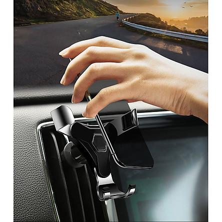 Giá đỡ 3 tay ôm điện thoại dạng kẹp trên xe hơi chắc chắn, tiện lợi -giao màu ngẫu nhiên (Tặng gương cầu lồi mini gắn gương chiếu hậu ô tô)