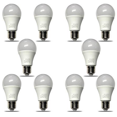 Bộ 10 bóng đèn LED Bulb kín nước 7W