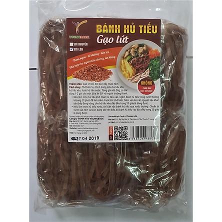 Hủ tiếu gạo lứt sợi to (500g)