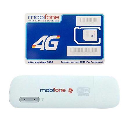 Huawei E8231 | Thiết bị phát wifi 3G Mobifone USB 3G Mobifone + Sim 4G Mobifone Khuyến Mãi 60GB /Tháng - Hàng Nhập khẩu