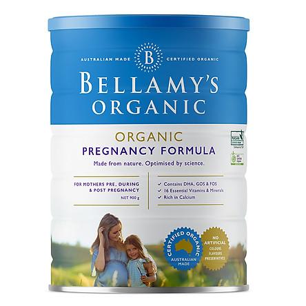 Sữa Công Thức Cho Mẹ Bầu và Cho Con Bú Bellamy's Organic (900g)