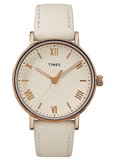 Đồng Hồ Nữ Dây Da Timex Southview TW2R28300 (37mm) - Trắng
