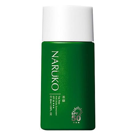 Kem Chống Nắng SPF50 Naruko Trà Tràm Tea Tree Anti-Acne Sunscreen SPF50 (30ml)