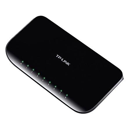 Switch ( Bộ chia mạng ) Gigabit 8 cổng Để bàn TP-Link TL-SG1008D - Hàng Chính Hãng