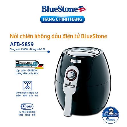 Nồi Chiên Không Dầu Bluestone AFB-5859 - 3.3L - Hàng chính hãng