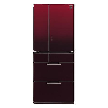 Tủ Lạnh Inverter Sharp SJ-GF60A-R (470L) - Đỏ Sẫm - Hàng chính hãng