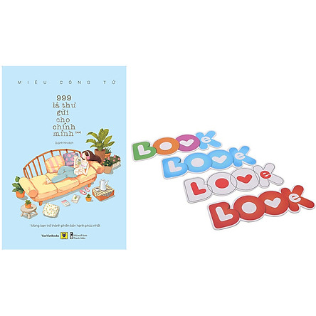 999 Lá Thư Gửi Cho Chính Mình - Mong Bạn Trở Thành Phiên Bản Hạnh Phúc Nhất (Phần 2) (Tặng Kèm Bộ Bookmark TiKi Love Books)