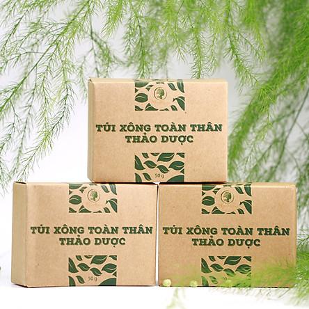 Bộ Xông Tắm Thảo Dược Khi ở Cữ Wonmom - Tặng Kèm Vòng Chỉ Đỏ May Mắn Cho Bé Yêu