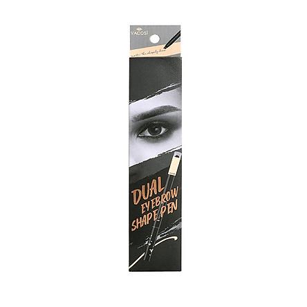 Chì Kẻ Mày Định Hình Đa Năng Vacosi Dual Eyebrow Shape Pen