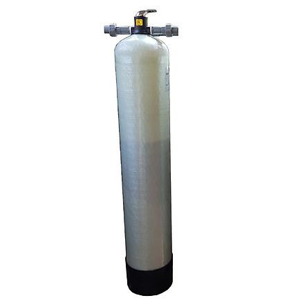Cột lọc thô composite xử lý nước đầu nguồn full vật liệu