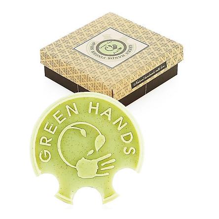 Xà phòng handmade FINGER SOAP trà xanh sạch nhờn, sáng da, chống trơn FINGER SOAP GREEN TEA ECOLIFE KOREA