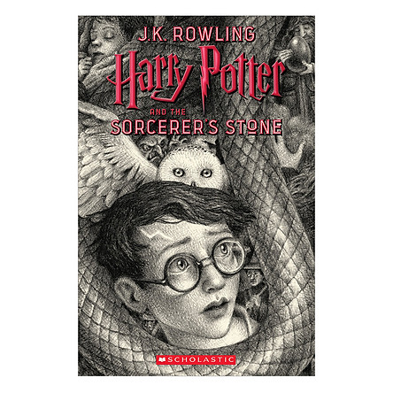 Harry Potter Part 1: Harry Potter And The Sorcerer's Stone (Paperback) (Harry Potter và Hòn đá phù thủy) (English Book)