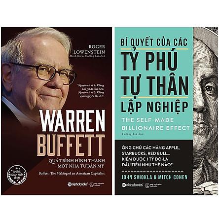 Combo Sách Doanh Nhân : Bí Quyết Của Các Tỷ Phú Tự Thân Lập Nghiệp + Warren Buffett - Quá Trình Hình Thành Một Nhà Tư Bản Mỹ