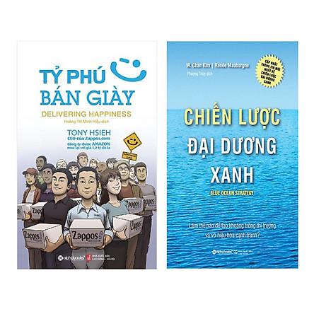 Combo Tỷ Phú Bán Giày (Tái Bản 2018) + Chiến Lược Đại Dương Xanh (Tái Bản 2017) (2 Cuốn)