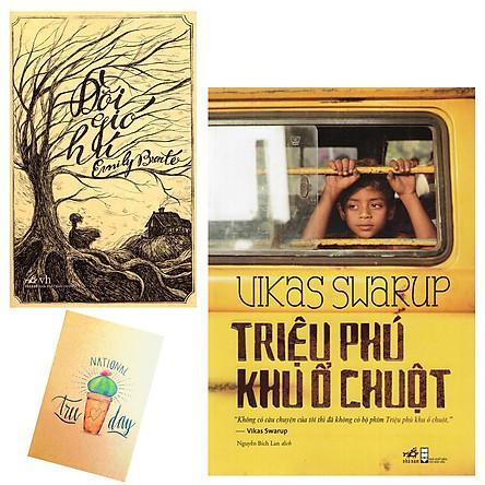 Combo Triệu Phú Khu Ổ Chuột và Đồi Gió Hú ( Tặng Kèm Sổ Tay)