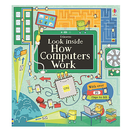 Usborne Look inside How computers work