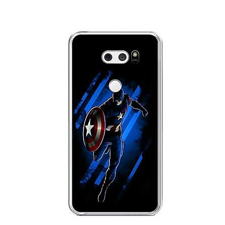 Ốp lưng dẻo cho điện thoại LG V30 - 0279 CAPTAIN02 - Hàng Chính Hãng