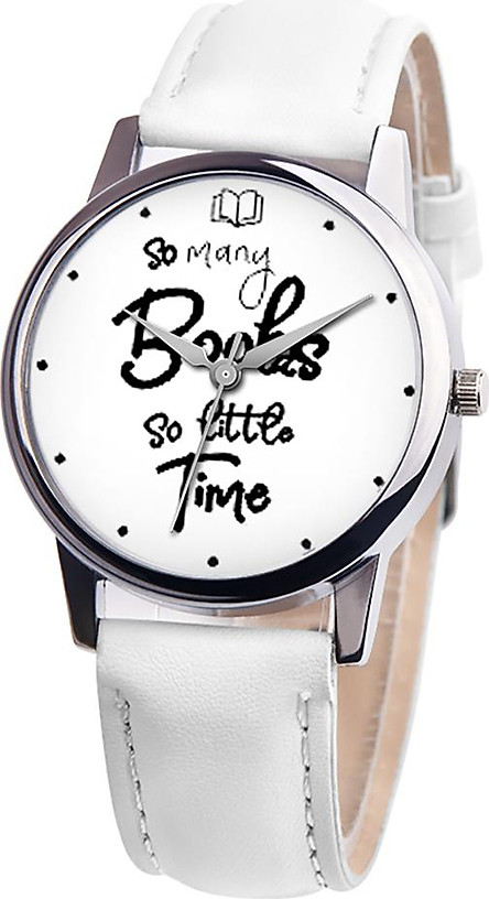 Wristwatches Quartz Watch Casual English Phrases Pattern Decoration Watches Pointer Student