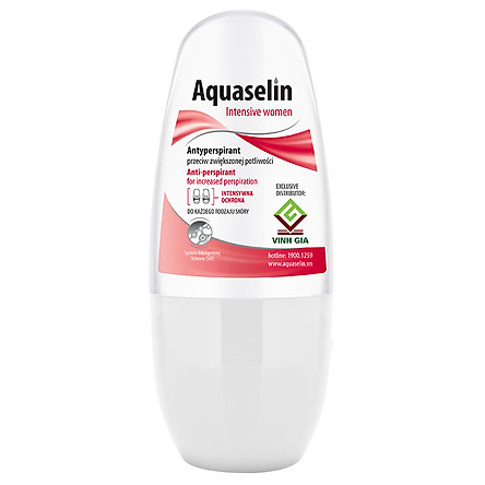 Lăn Nách Dành Cho Nữ Aquaselin Insensitive Women Antiperspirant For Increased Perspiration 50ml - 3934