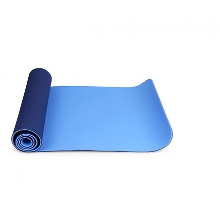 Thảm Tập Gym Và Yoga TPE 2 Lớp 6MM2L - Xanh