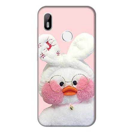 Ốp lưng điện thoại Vsmart Joy 1 hình Vịt Bông Lalafanfan Mẫu 4 - Hàng chính hãng