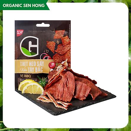 [Chỉ Giao HCM] - Thịt heo sấy kiểu Tây Bắc vị BBQ 25gr