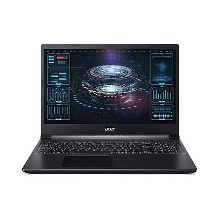 Laptop Acer Aspire 7 A715-42G-R4ST (NH.QAYSV.004) Đen (Cpu R5-5500U, Ram 8GB, Ssd 256gb Pcie, Vga 4G Gtx 1650, Win10, 15.6 inch FHD) - Hàng chính hãng