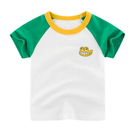 Fun Baby Short Sleeve T-shirt Pure Cotton Cartoon T-shirts Baby Clothing
