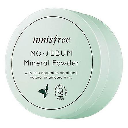 Phấn Phủ Kiềm Dầu Dạng Bột Khoáng Innisfree No-Sebum Mineral Powder (5g)