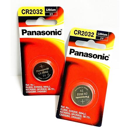 2 Vỉ Pin Panasonic CR2032 ( CR 2032/1PT x 2 Vỉ ) Lithium 3V Chính Hãng