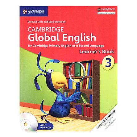 Cambridge Global English Stage 3: Learner Book with Audio CD