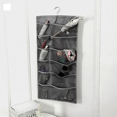 Túi treo đồ 2 mặt 30 ngăn đựng phụ kiện thời trang, thắt lưng, đồ lót, vật dụng gia đình tiết kiệm diện tíchcó móc treo tủ siêu tiện dụng, chất liệu vải oxford chống thấm nước bền đẹp