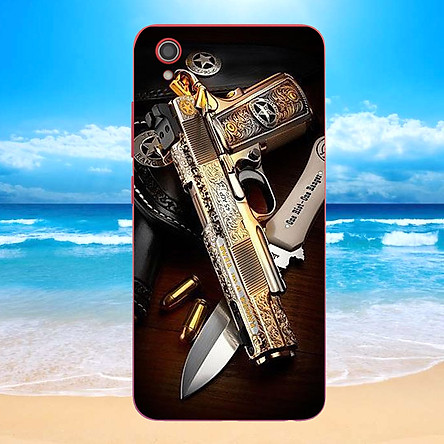 Ốp điện thoại dành cho máy Vivo Y91C - GOLDEN GUN MS DGDG002