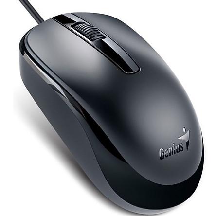 Chuột quang có dây Genius DX-120 (Đen) - Hàng Chính Hãng