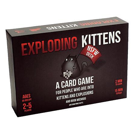 Trò Chơi Boardgames Mèo Nổ (Dành Cho Người Lớn)