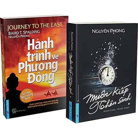 Combo 2 Cuốn : Muôn Kiếp Nhân Sinh + Hành Trình Về Phương Đông