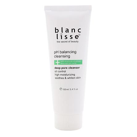 Gel Rửa Mặt Trắng Da BLANC LISSE - pH BALANCING CLEANSING 100mL