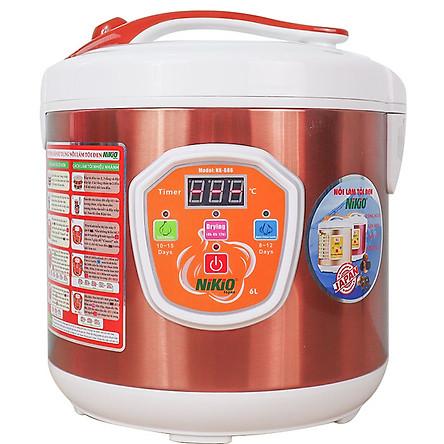 Máy Làm Tỏi Đen Tùy Chỉnh Nikio NK-686 (6L) - Cafe Sữa