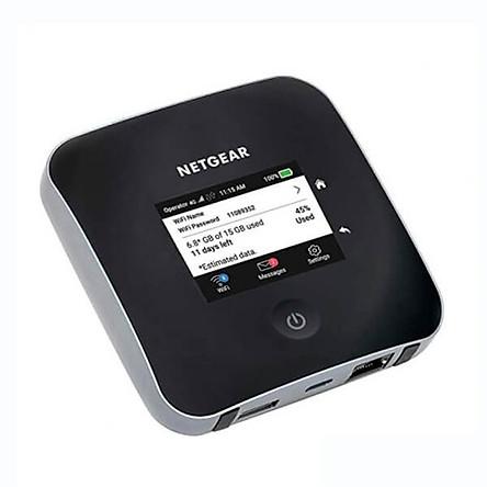 Bộ Phát Wifi 4G Netgear Nighthawk M2 MR2100 Tốc Độ 2000Mb/s Wifi băng tần kép 2,4Ghz & 5Ghz - Hàng nhập khẩu