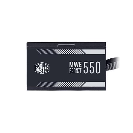 Nguồn máy tính Cooler Master MWE 550 BRONZE V2 – 80 Plus BRONZE – Hàng chính hãng