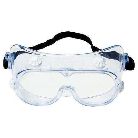 Kính bảo hộ mắt chuyên dụng chống hóa chất, bụi và chống tia UV 3M 3M-334