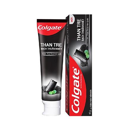 Kem đánh răng Colgate thiên nhiên từ than tre Hàn Quốc 40g
