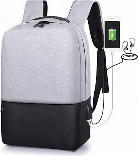 Balo chống trộm thời trang nam nữ cao cấp có sạc điện thoại, có cổng cắm tai nghe, siêu nhẹ chống nước