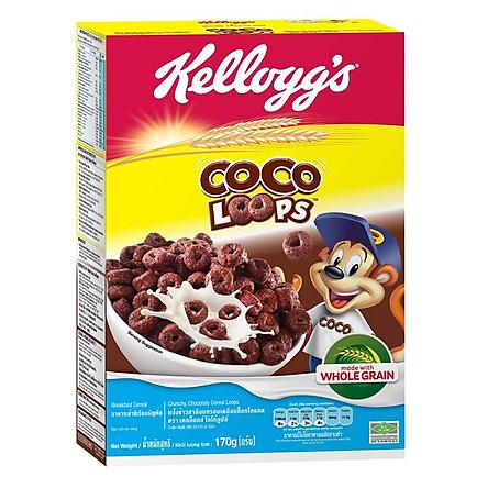 """[Chỉ Giao HCM] - Ngũ cốc dinh dưỡng Kellogg""""s Coco Loops - hộp 170gr"""