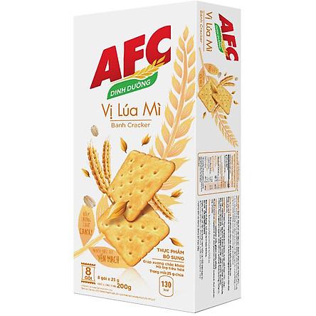 Bánh Kinh Đô AFC Dinh Dưỡng Vị Lúa Mì Hộp 200g