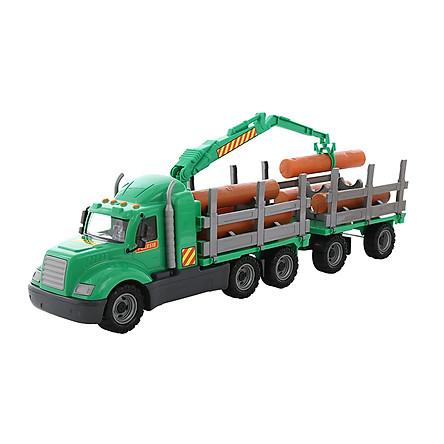Xe đồ chơi chỡ gỗ lớn Mike – Polesie Toys